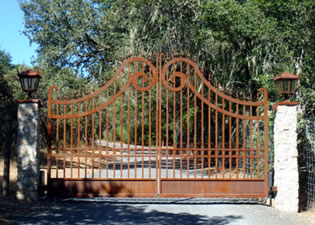 Winery Gate