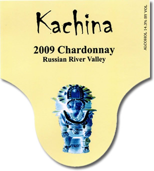 2009 Russian River Chardonnay Label